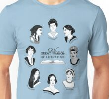 Great Women of Literature Unisex T-Shirt