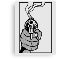 Smoking Gun Canvas Print