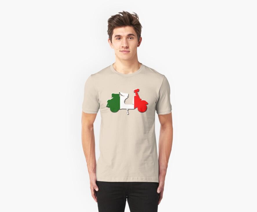 Vespa Italia by Zack Nichols