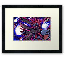 Hydreigon   Draco Meteor Framed Print
