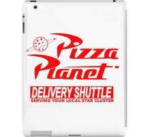 Pizza Planet Delivery Shirt iPad Case/Skin