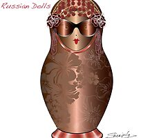 Fabulous Russian Dolls by Elina Sheripova