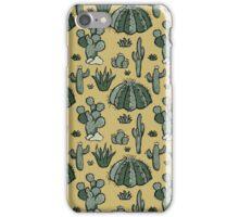 Cactus Pattern iPhone Case/Skin