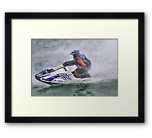 Rick Sherker @ Harbor Beach, MI Framed Print