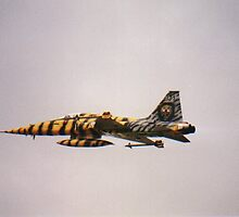 Northrop F5 of Norwegian Air Force by chord0