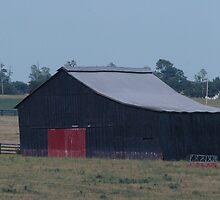 red door barn by donna.k. nolan