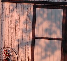 barn door by donna.k. nolan