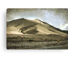 Sunset at the pass Canvas Print