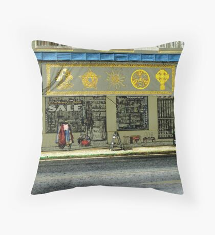 west end 11 Throw Pillow