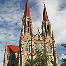 St Helena Cathedral, Montana by pjminnieandmax