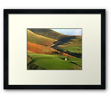 English Hills and Dales Framed Print