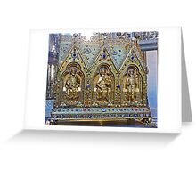 Reliquary Casket Of Charles the Good Greeting Card