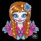 Sugarskull Anna  by Miss Cherry  Martini
