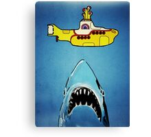 Jaws-Yellow Submarine  Canvas Print