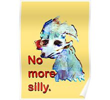 No More Silly Poster