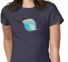 Blue Bird of Happiness Womens Fitted T-Shirt