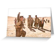Children of the Tundra Greeting Card