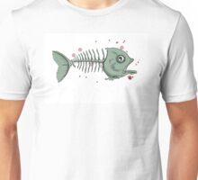 The Fish Skeleton Unisex T-Shirt