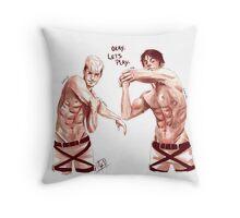 Limber up Throw Pillow