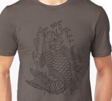 Koi Fish (black) Unisex T-Shirt