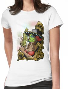 Bandita Candy Version 2 Womens Fitted T-Shirt