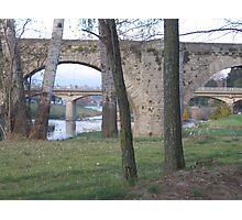 Bridges - Carcassonne Photographic Print