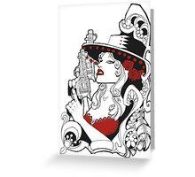 Bandita Candy Version 1 Greeting Card