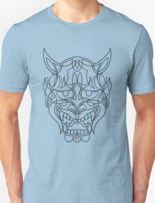 Japanese Mask (black) T-Shirt