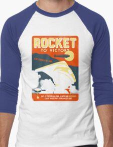 Rocket To Victory Men's Baseball ¾ T-Shirt