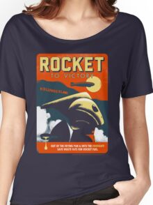 Rocket To Victory Women's Relaxed Fit T-Shirt