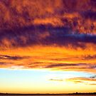 Sunset over St Kilda by Sharon Fyfe