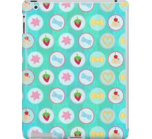 Strawberries Icing and Bows iPad Case/Skin