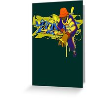 Street Style Mix Master Greeting Card