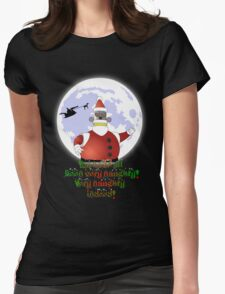 VERY NAUGHTY INDEED !!! Womens Fitted T-Shirt