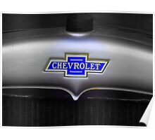 Chevy badge Poster