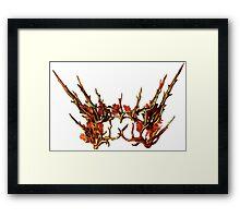 thranduil crown Framed Print