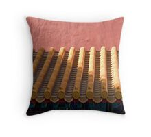 chinese roof Throw Pillow