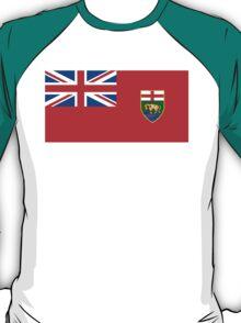 flag of Manitoba T-Shirt