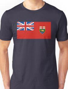 flag of Manitoba Unisex T-Shirt