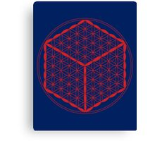 Cubed Flower of Life  Canvas Print