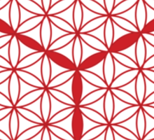 Cubed Flower of Life  Sticker