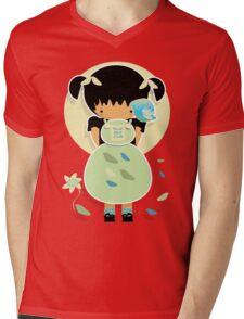 Blue Bird Club TShirt Mens V-Neck T-Shirt