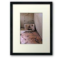 Prime Real Estate-The Bathroom Framed Print