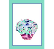 Crooked Cupcake Photographic Print