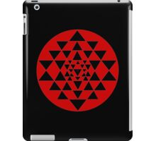 Sri Yantra Black iPad Case/Skin
