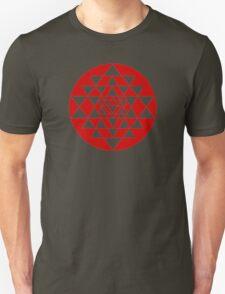 Sri Yantra Black T-Shirt