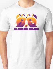 Sunset Love Birds TShirt Unisex T-Shirt