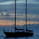 Sailing in the Caribbean by Jennifer Darrow