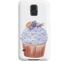 Fruity cupcake Samsung Galaxy Case/Skin
