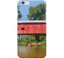 Putnam County Covered Bridge iPhone Case/Skin